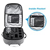 Powerextra Hardshell Waterproof Anti-Shock Carrying Backpack for DJI Mavic Pro and Accessories