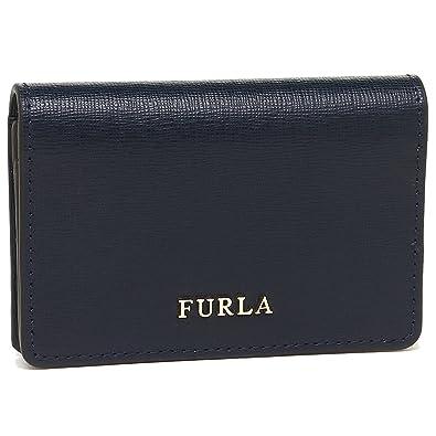 215a7c6b5a77 [フルラ] FURLA バビロン ビジネス カードケース 名刺入れ ダークブルー BABYLON S BUSINESS CARD