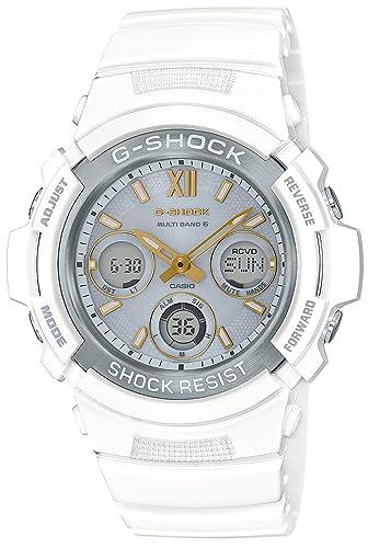 Reloj Casio G-shock - Reloj G Shock recious corazón selección Solar Radio awg-m100sga-7ajf hombre: Amazon.es: Relojes
