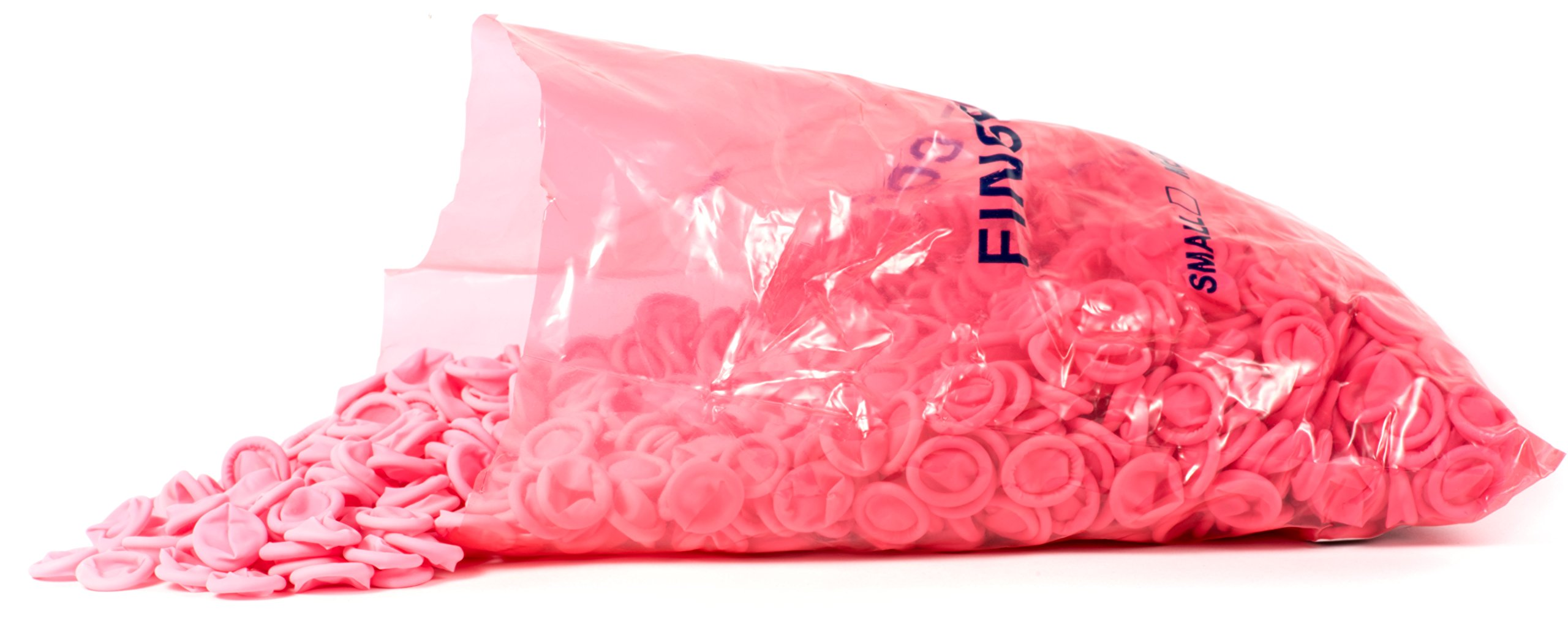 BKLJ,Finger Cots,ESD,Anti Static,Pink,Hospitals,Labs,Science,Clean Room,Nail Care,Salon Technician,Thimble,Protection, Sleeve,Health & Household,Powder Free,Sterile,1440 per bag,Latex, Medium by BKLJ (Image #3)