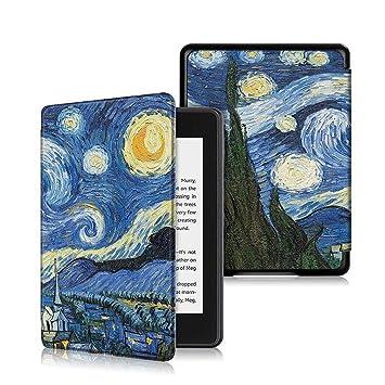 Greetuny 1pcs 6 Pulgadas Kindle Paperwhite 4 Funda Inteligente ...