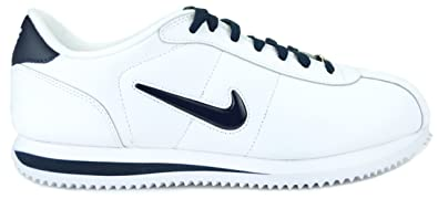 hot sale online b48d2 69675 ... where to buy nike cortez basic leather tpu swoosh mens walk shoes white  white navy blue
