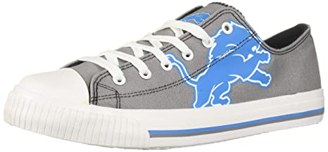 76568764 Amazon.com : NFL Mens Low Top Big Logo Canvas Shoe - Mens, Detroit ...