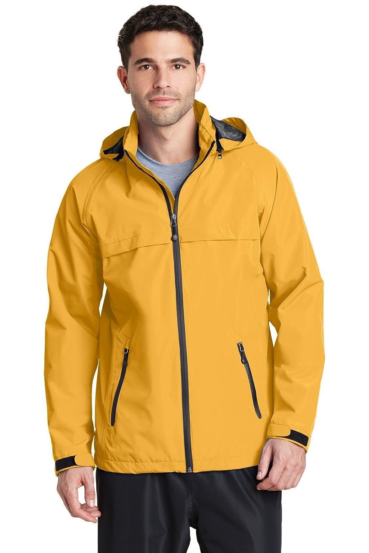 Port Authorityメンズトレント防水ジャケット B015A05LS0 L|Slicker Yellow Slicker Yellow L