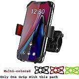 Coku Universal Bike Phone Mount for Motorcycle, Bike Handlebars, Adjustable Mobile Holder