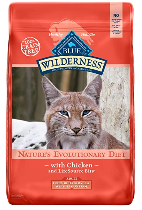 Blue Buffalo Wilderness High Protein Grain Free Natural Adult Dry Cat Food