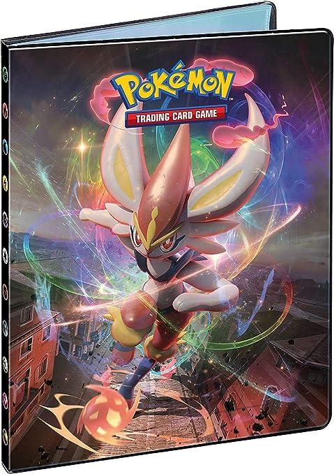 Funmo Raccoglitore Carte Pok/émon Porta Carte Pokemon Album per Carte Pokemon GX Ex Ash Ketchum Rosso pu/ò ospitare 120 Carte a Caricamento Singolo o 240 a Doppio Caricamento