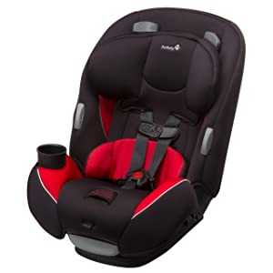 Safety 1st Continuum 3-in-1 Car Seat, Chili Pepper