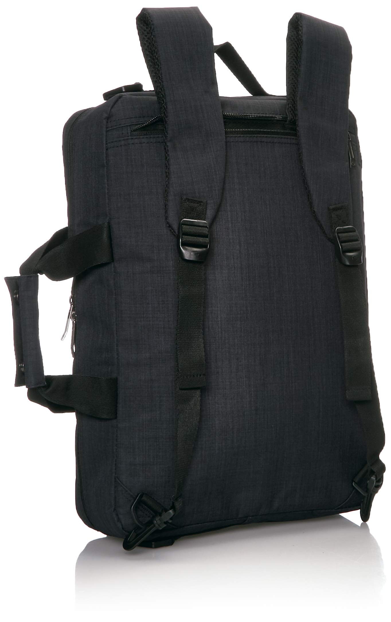 Solo Duane 15.6 Inch Laptop Hybrid Briefcase, Converts to Backpack, Slate, Amazon Exclusive by SOLO (Image #4)