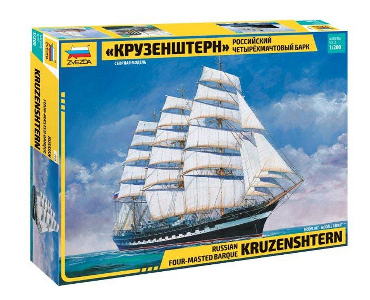 la calidad primero los consumidores primero Zvezda Z9045 KRUSENSTERN KRUSENSTERN KRUSENSTERN Sailing Ship Kit 1 200 MODELLINO Model Compatible con  para barato
