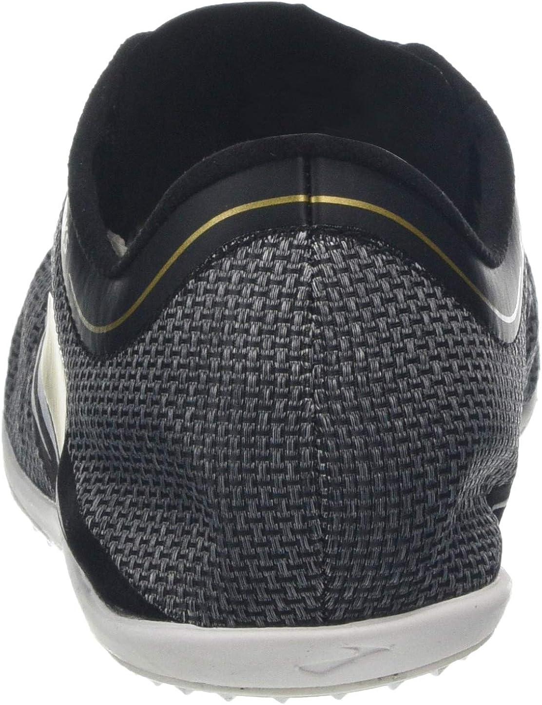 M US Brooks Men/'s ELMN8 v4 Black//Gold//White Nylon Running Shoes 13 D