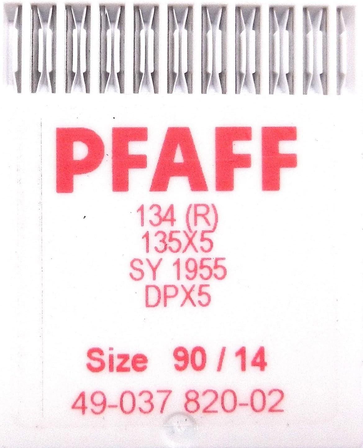 10 Agujas para máquina de coser PFAFF 134 (R). Agujas redondas ...