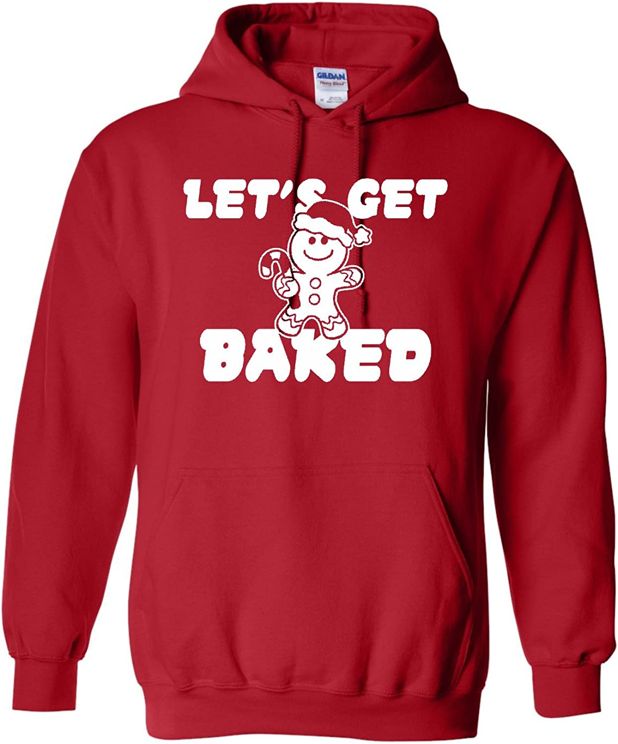 All Things Apparel Lets Get Baked Christmas Cookies Unisex Hoodie