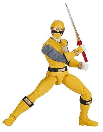 Power Rangers Legacy ‑ 6 5-Inch Ninja Storm Yellow Ranger Legacy Figure