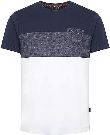 Merc London Classic Retro - Camiseta de algodón para hombre, diseño de Londres, color blanco Blanco blanco S: Amazon.es: Ropa y accesorios