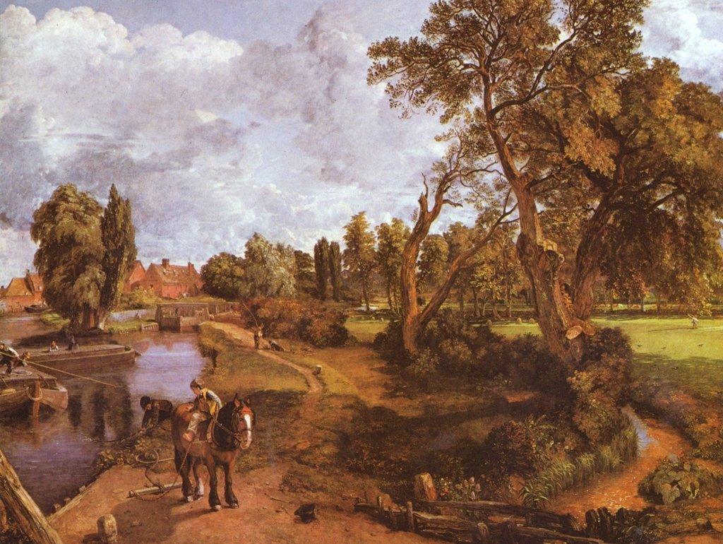 Lais Puzzle John Constable - The Admiral's House a Hampstead 2000 Pezzi