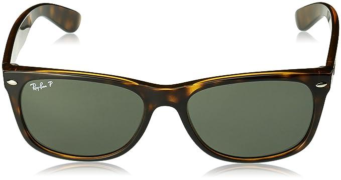 Ray-Ban 2132, Gafas de Sol Unisex, Multicolor (Tortoise), 58 mm
