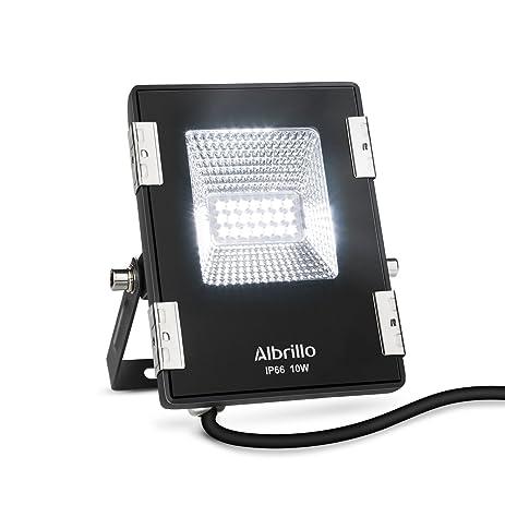Albrillo 10w led flood lights 100w halogen bulb equivalent 6000k albrillo 10w led flood lights 100w halogen bulb equivalent 6000k daylight white 800lm workwithnaturefo