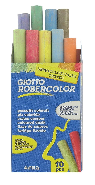 Craie ronde pour tableau - Ecolier couleur assortie - Vendu par 10 Générique