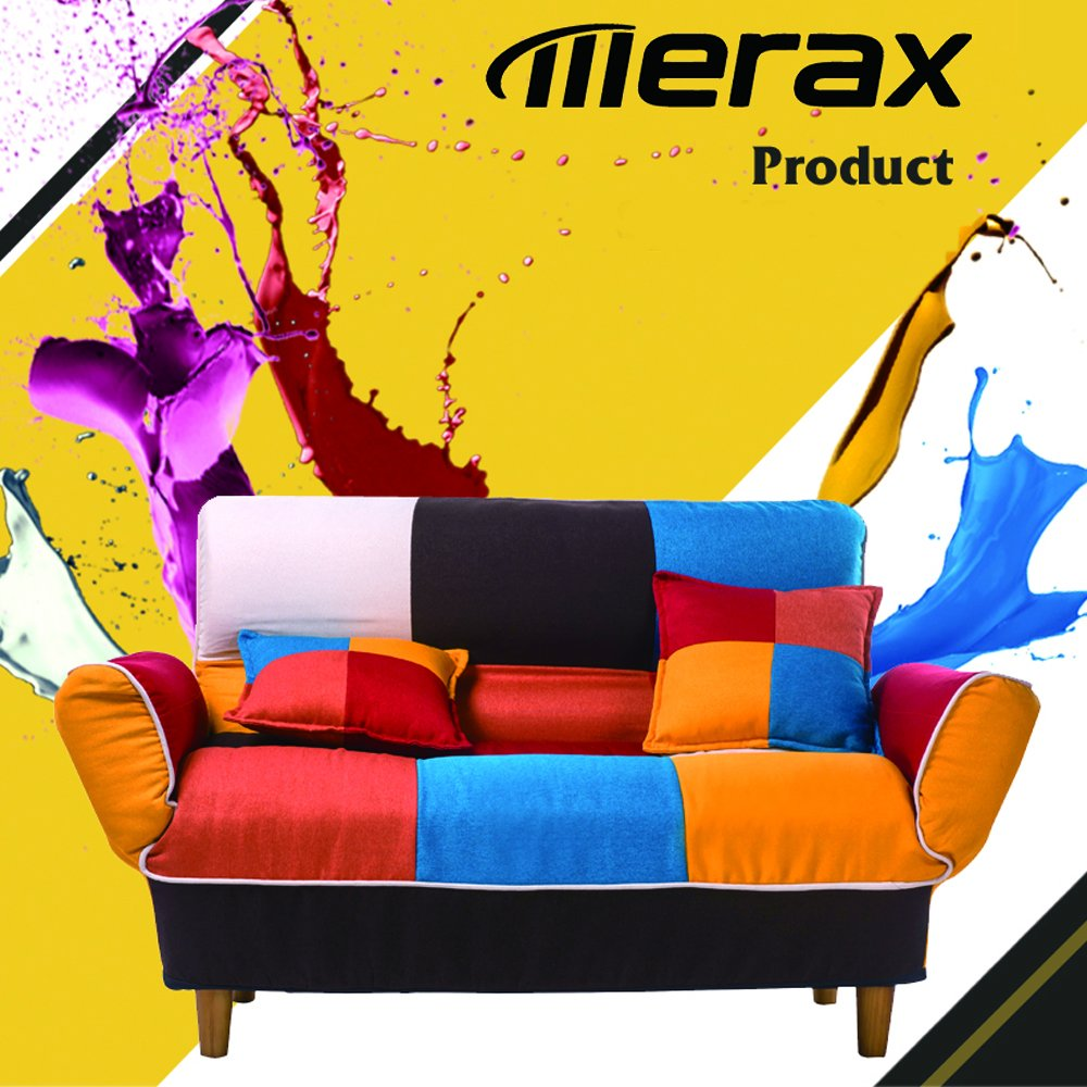Merax Young Series Sofa Futon Sofa Loveseat Sleeper Modern Contemporary Upholstered Quality Sofa