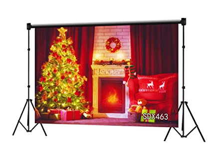 stage props Christmas backdrops and