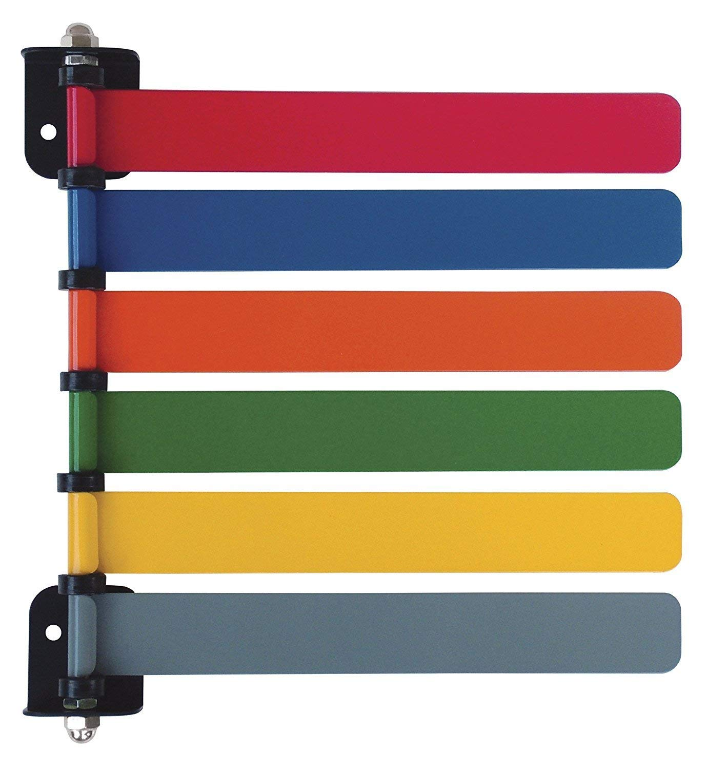 Omnimed Room ID Flag System, Standard 6 Color Set (Quickly & Cleary Alert Staff to Room Availability)