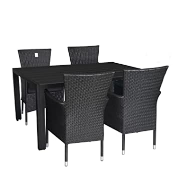 MultiStore 5 piezas. Mobiliario de jardín aluminio polywood ...