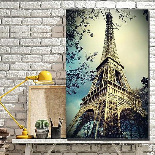 YB Torre Eiffel Escenografía Carteles e Impresiones de Pared ...