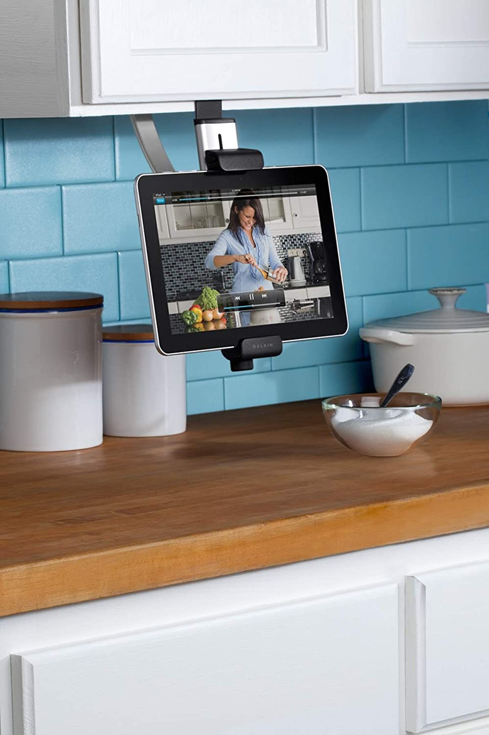 Amazon.com: Belkin Kitchen Cabinet Tablet Mount: Computers ...