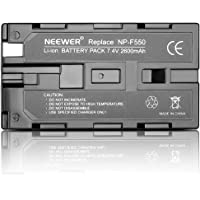 Neewer 7.4V 2600mAh Rechargeable Li-ion Battery Pack Replacement for Sony NP-F550/570/530, Compatible with Sony HandyCams, Neewer Nanguang CN-160,CN-216,CN-126 Series LED Light and Chromo Inc., Polaroid Other LED On-Camera Video Lights Using NP-F550 Batteries