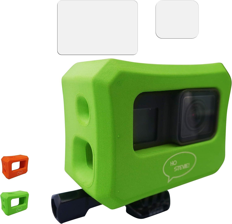 Floaty Case Choose Color or Hero 5 Screen Protectors for GoPro Hero 7 Ho Stevie Hero 6