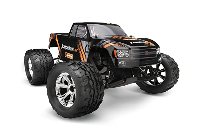 Amazon Com Hpi Racing 115116 1 10 Jumpshot Mt Rtr 2wd Vehicle Toys