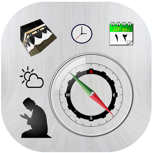 Qibla finder:Prayer times & Islamic Calendar - Calendars Prayer Islamic