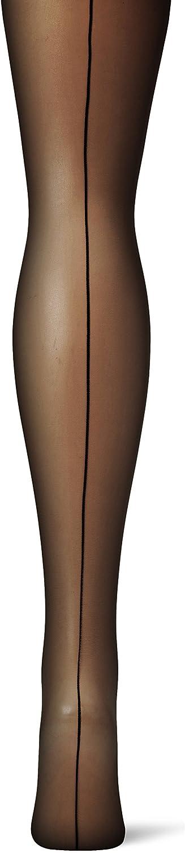 38//39 20 DEN Taglia Produttore: 3 Negro Donna Nero CECILIA DE RAFAEL Central Park Collant