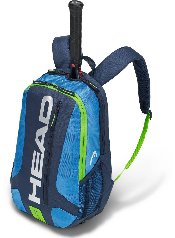 HEAD Elite Backpack Tennis Racket Bag Black/Red One Size 283468BKRD
