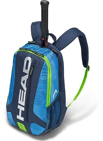 Head Elite - Mochila de Tenis Raqueta Bolsa, Color Azul/Verde, tamaño n/a: Amazon.es: Deportes y aire libre