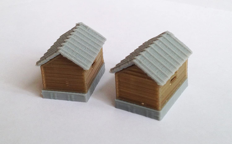 Outland Models - Juego de cabaña para Tren y Casas de Campo ...