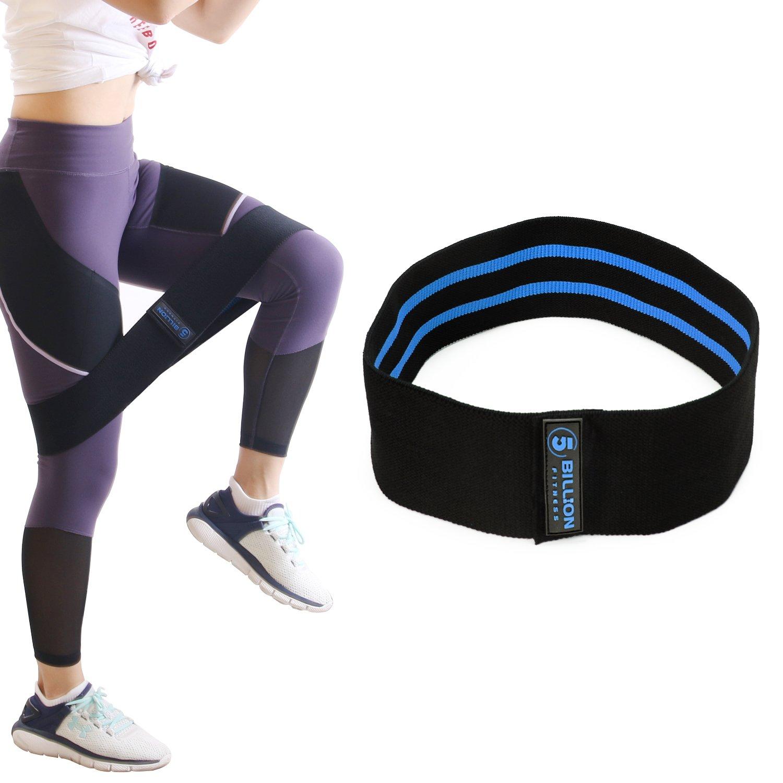 5BILLION Banda elástica de resistencia para la cadera glúteo cadera botín elástico yoga activación antideslizante entrenamiento