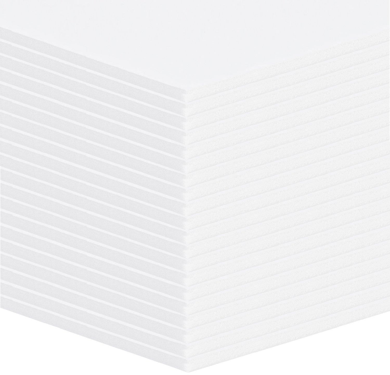 20pezzi Altera Schiuma leggera Platten, leggero tessuto orlo bianco dimensioni: A2(42x 59,4cm) CE860W