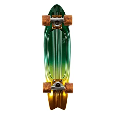 "Globe 23"" Bantam Faded St Lowrider Green Complete Skateboard Cruiser : Sports & Outdoors"
