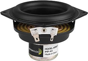 """Dayton Audio ND90-4 3-1/2"""" Aluminum Cone Full-Range Neo Driver 4 Ohm"""