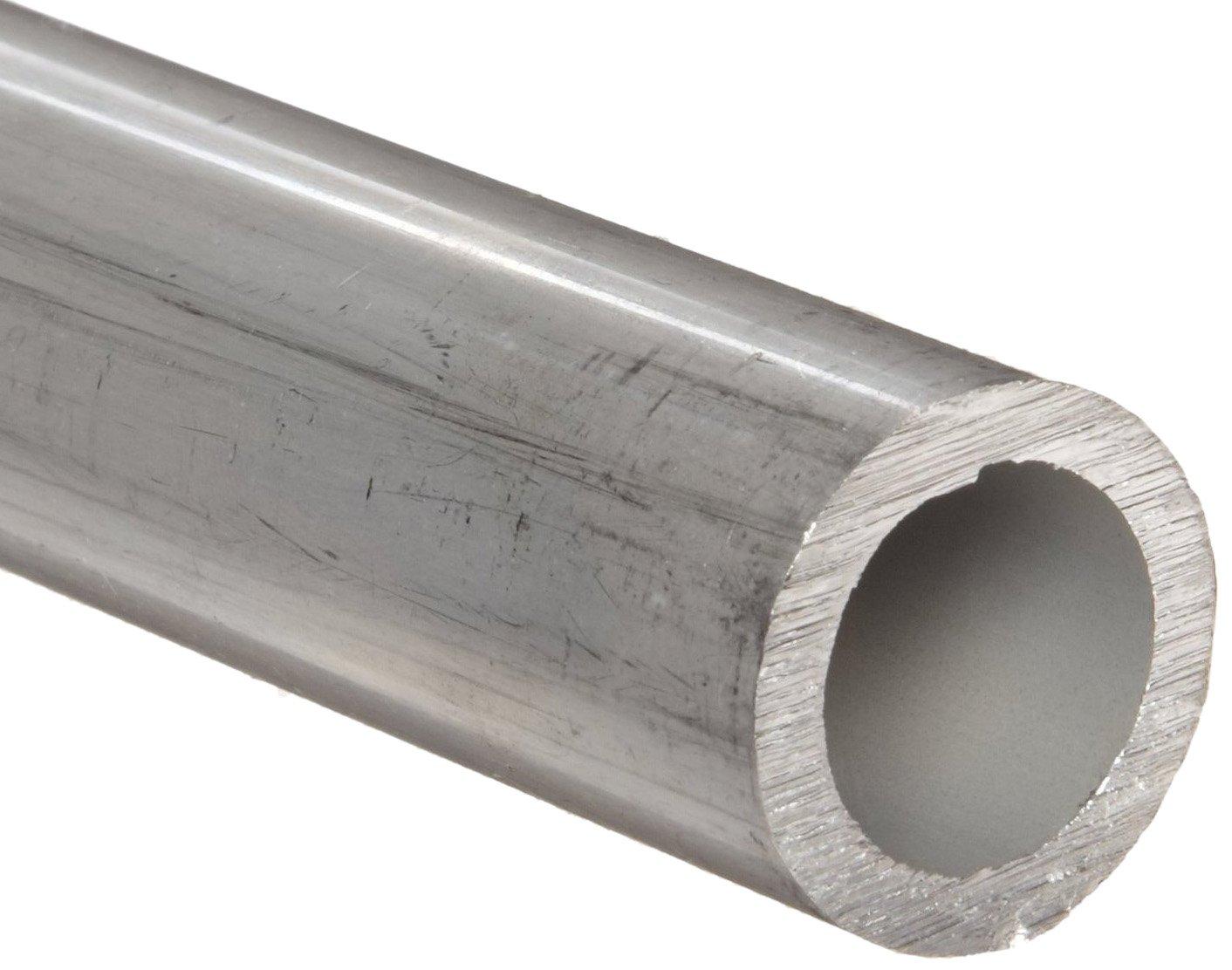 0.12 Wall Aluminum 2024-T3 Seamless Round Tubing WW-T 700//3 1 OD 48 Length 0.76 ID