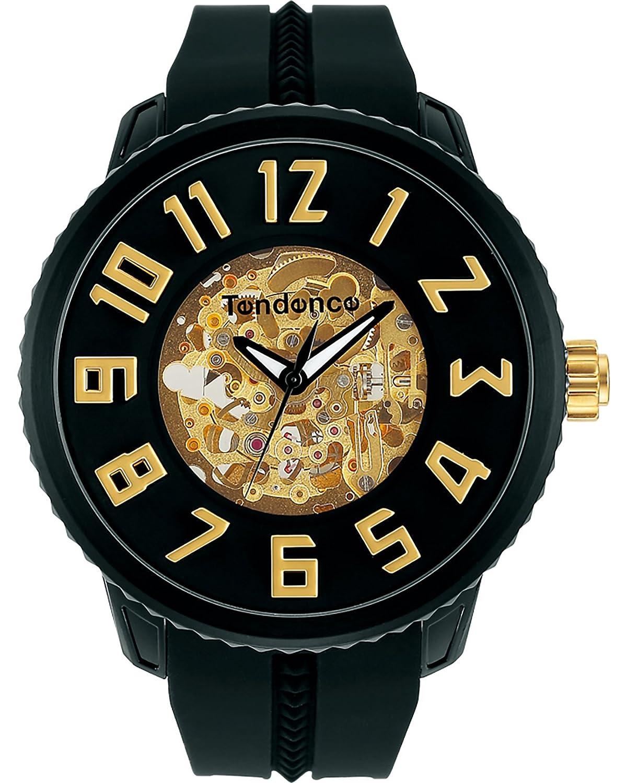 [テンデンス]TENDENCE 腕時計 スポーツスケルトン ブラック文字盤 TG491006 【並行輸入品】 B06ZXST7DG