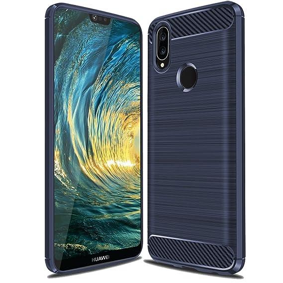 reputable site 1a24b def2e Huawei P20 Lite Case, Huawei Nova 3E Case, Suensan TPU Shock Absorption  Technology Raised Bezels Protective Case Cover for Huawei P20 Lite  smartphone ...