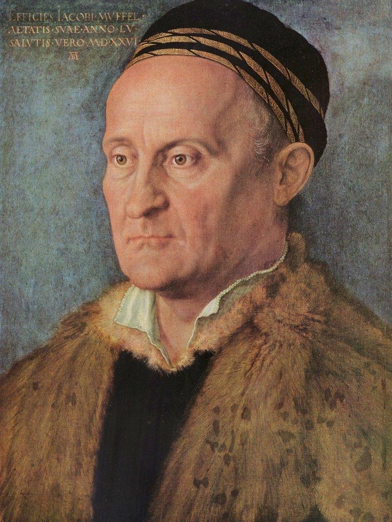 Lais Puzzle Albrecht Dürer - Porträt des Jacob Muffel 2000 Teile