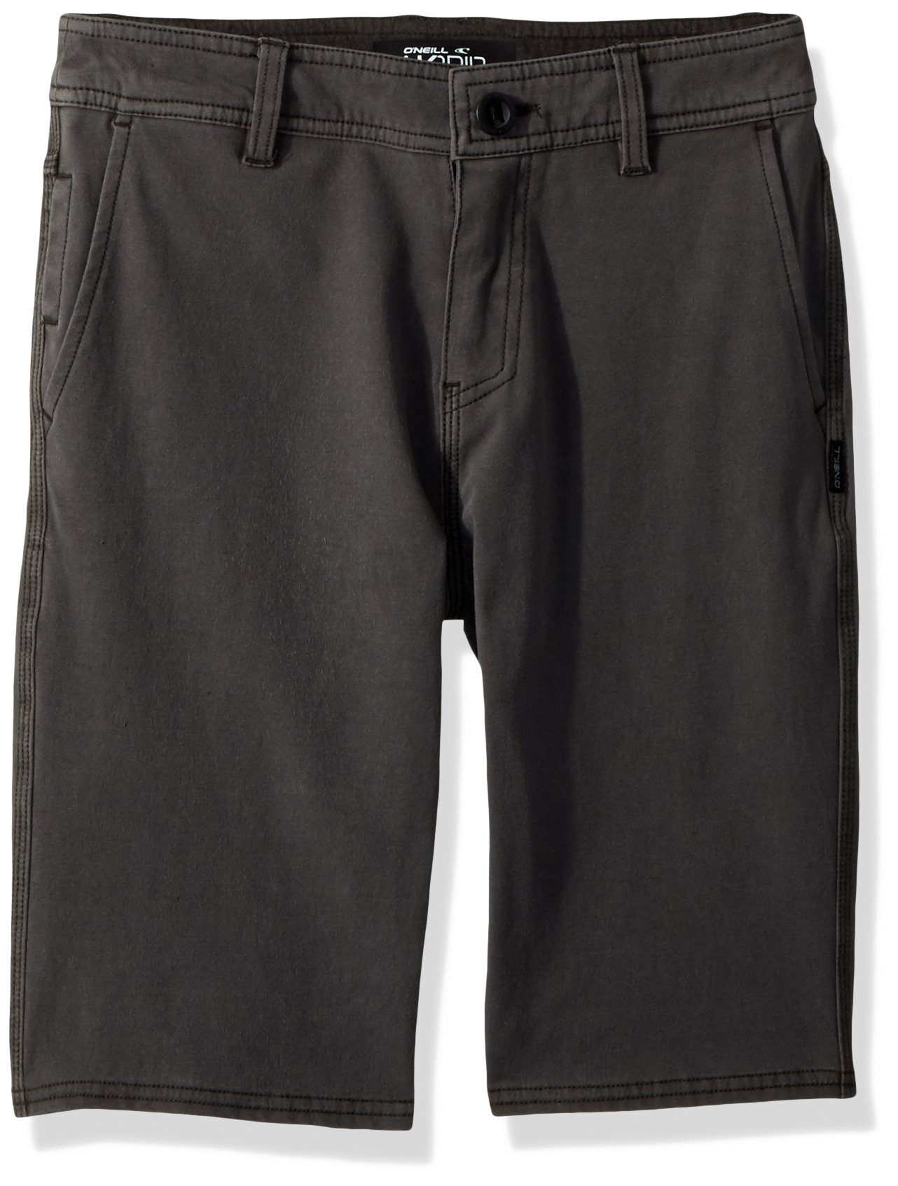O'Neill Big Boys' Venture Overdye Hybrid Boardshort, Coffee, 25