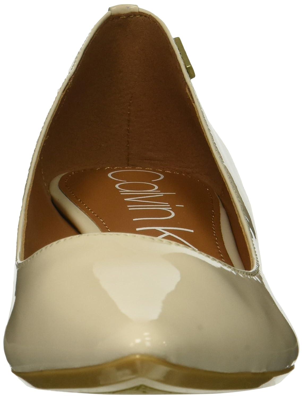 Calvin Klein Women's Germina Pump B07CKGQW4L 6.5 B(M) US|Soft White