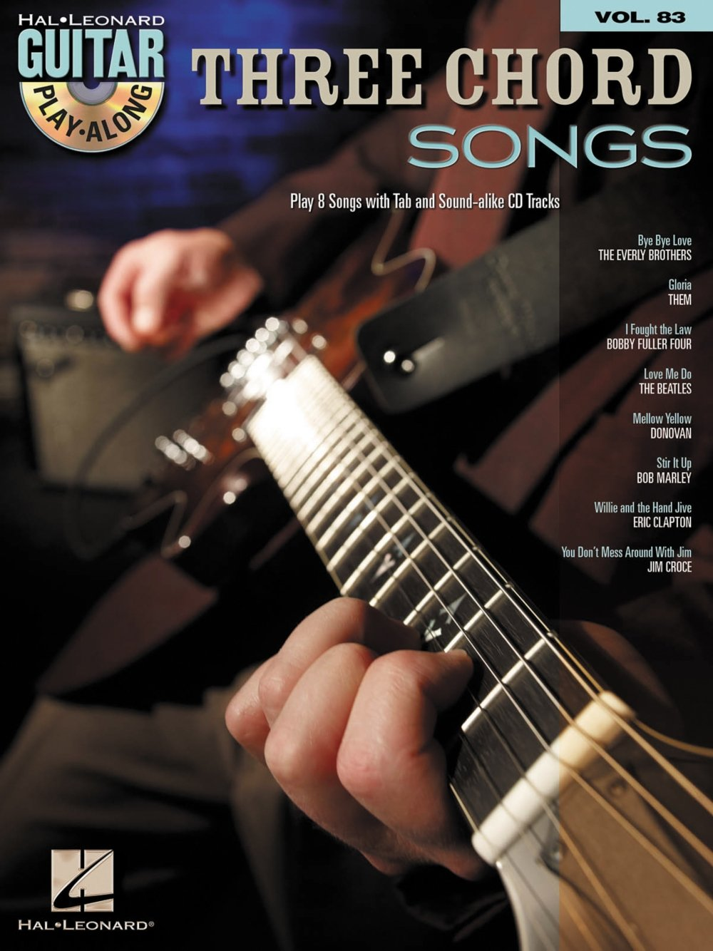 Amazon Hal Leonard Three Chord Songs Guitar Play Along Volume