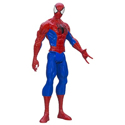 Marvel Ultimate Spider-man Titan Hero Series Spider-man Figure, 12-Inch: Toys & Games