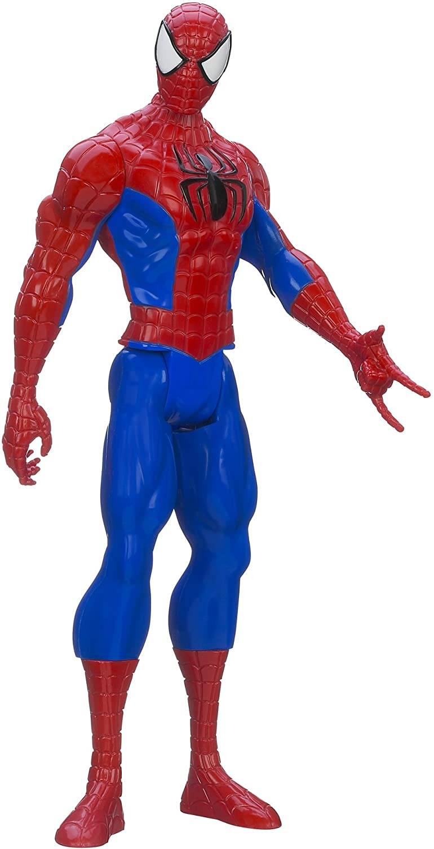 Marvel Ultimate Spider-man Titan Hero Series Spider-man Figure, 12-Inch